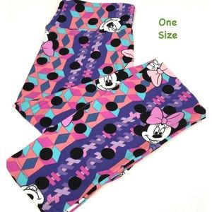 LuLaRoe OS Minnie Mouse Leggings NEW with tags!
